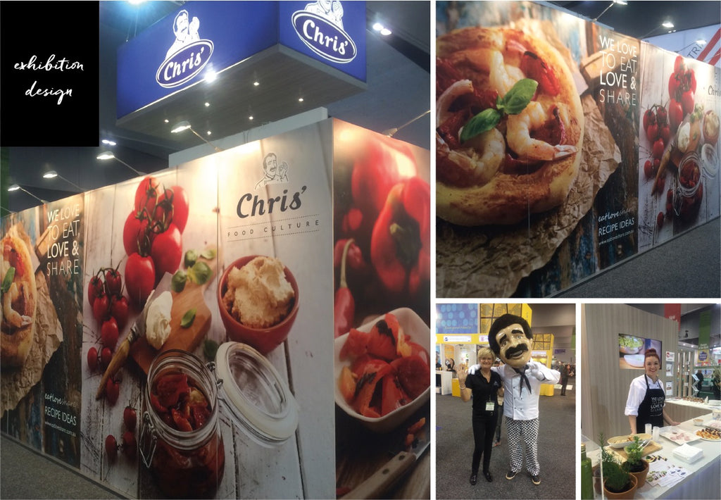 Exhibition Design - Fine Foods Show 2016