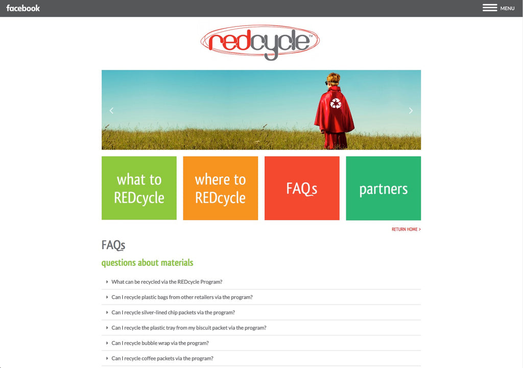 REDcycle - Website Design & Management