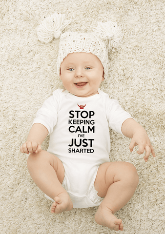 Keep Calm Baby Cloths
