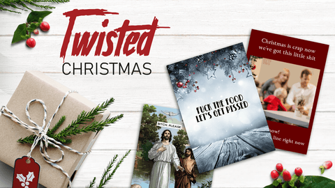 Funny Christmas Cards | Twisted Gifts