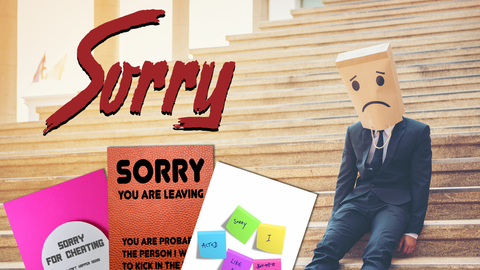 Funny Sorry Cards