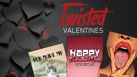 Funny Valentine's Cards | Twisted Gifts