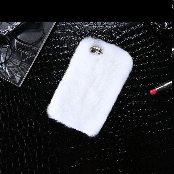 Stylisches iPhone Faux Fur Case