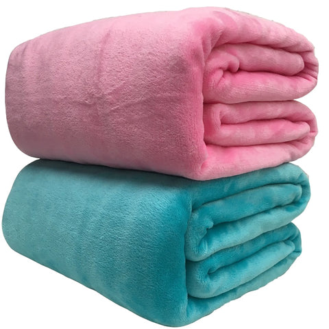 Cuddly Fleece Blanket in different colors