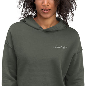 Women's B U Elite Signature Crop Hoodie