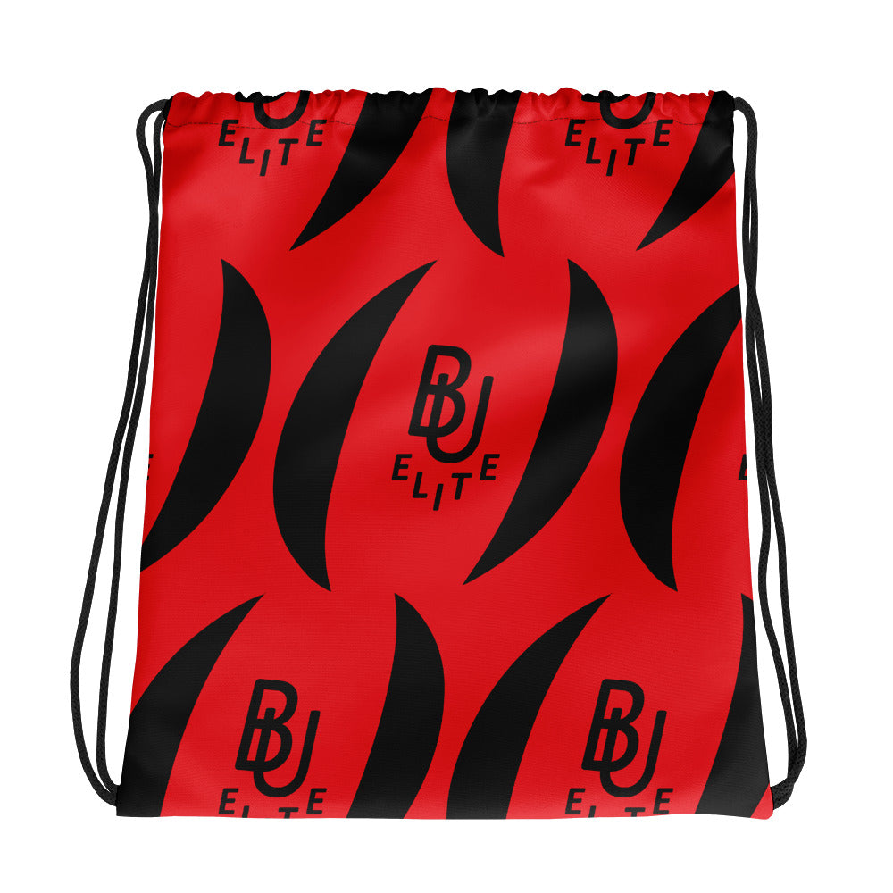 B U Elite Logo Drawstring Bag