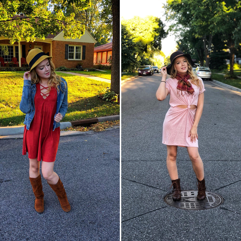 How to Wear your Summer Dress this FALL!