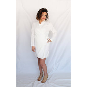 Le Lis White Robe Dress