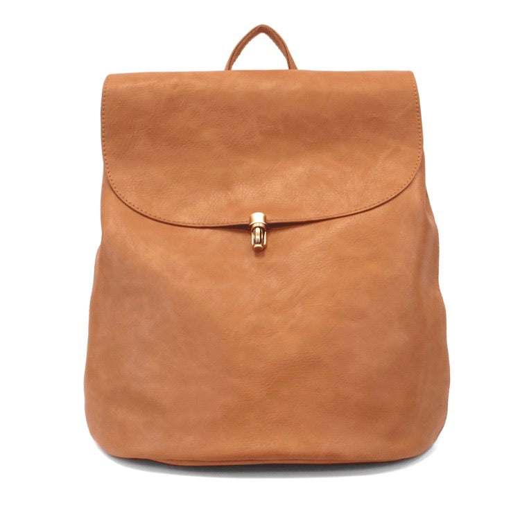 Vegan Leather Backpack Purse