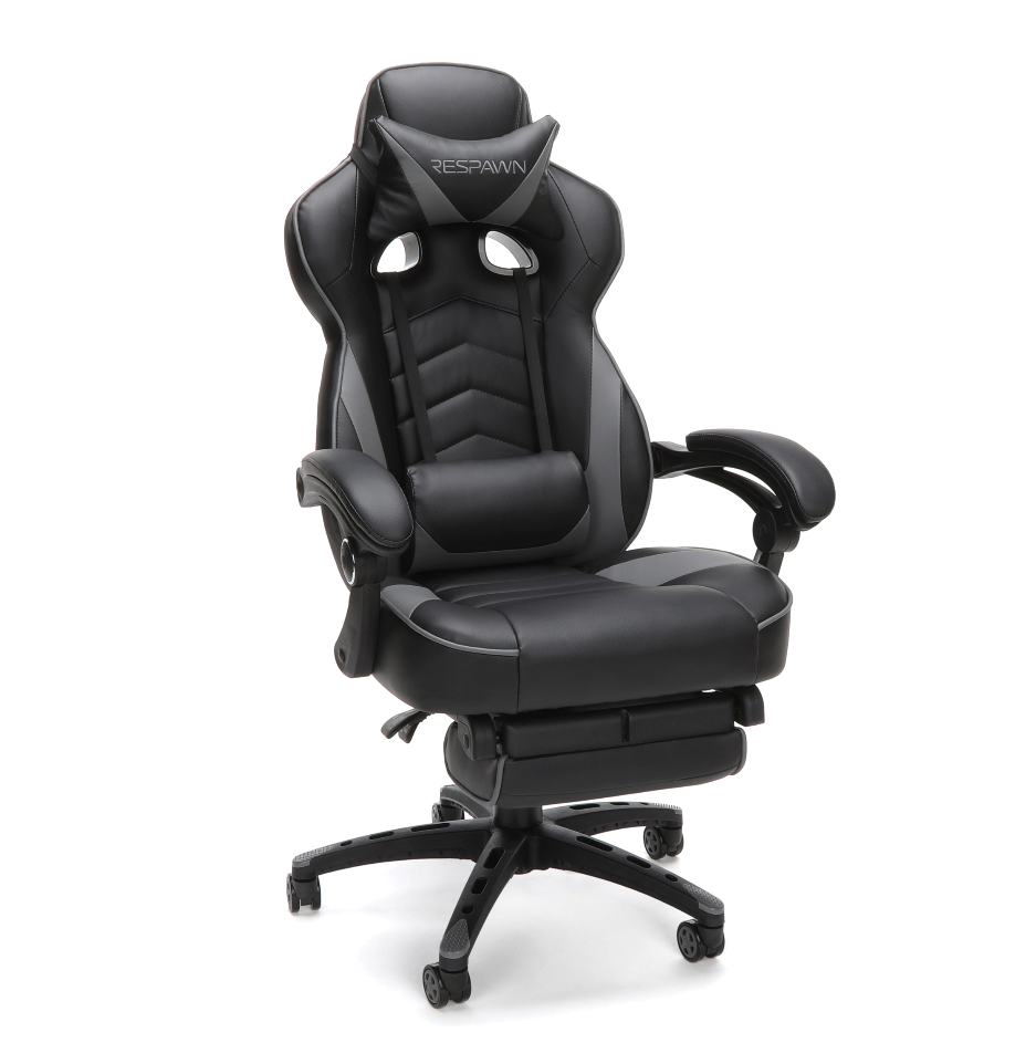 Computer Reclining Gaming Chair complete with Footrest