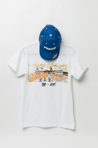 """In The Land of Golden Sunshine"" TSU 106th HC tee"