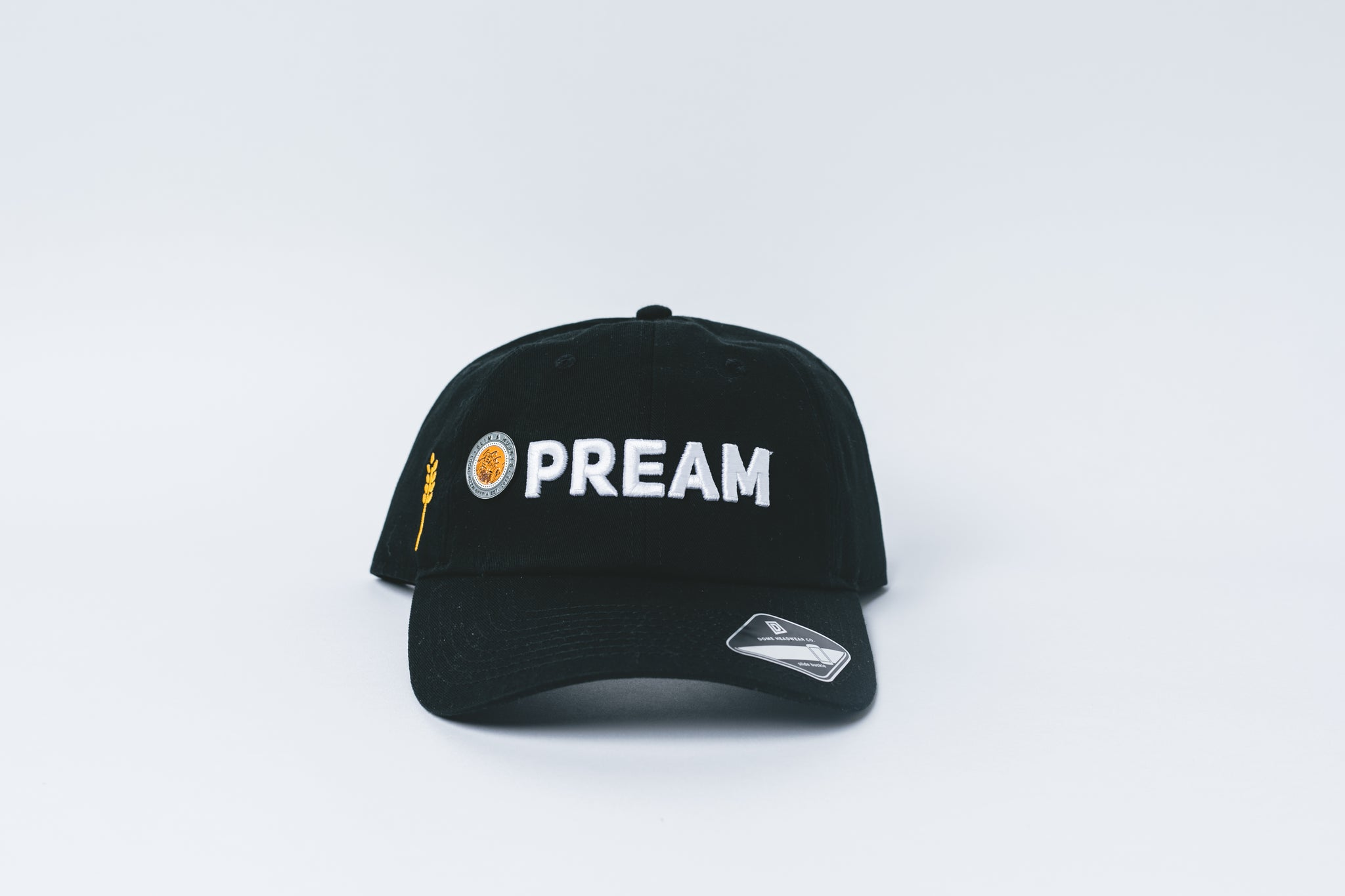 PREAM - Dad Hat (Black)