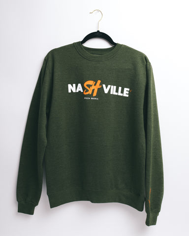 NaSHville Crewneck (Green)