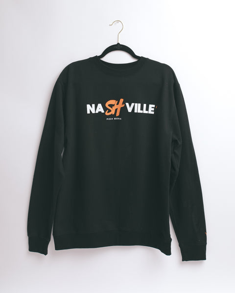 NaSHville Crewneck (Black)