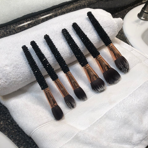 how to properly wash makeup brushes tutorial