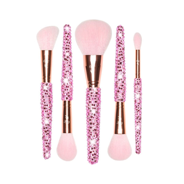 5-Piece Blinged Brushes x Paige Koren Face Brush Set