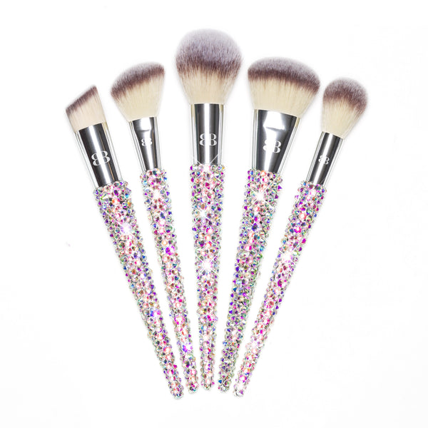 Top rated nice silver makeup brushes for face