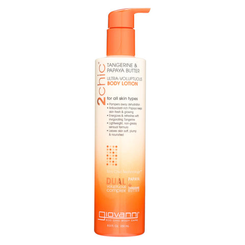 Image of Giovanni Hair Care Products 2chic Body Lotion - Ultra-volupt - 8.5 Fl Oz