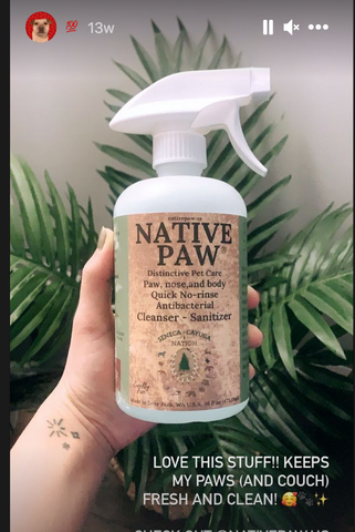 Excellent dog cleanser, all natural and moisturizes the skin, paw cleaner, nose cleaner, and my dog smells great, remove the dog stink