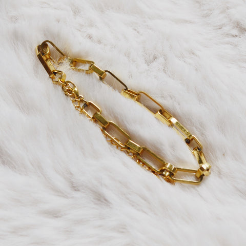 THE CHUNKY BOLD CHAIN BRACELET