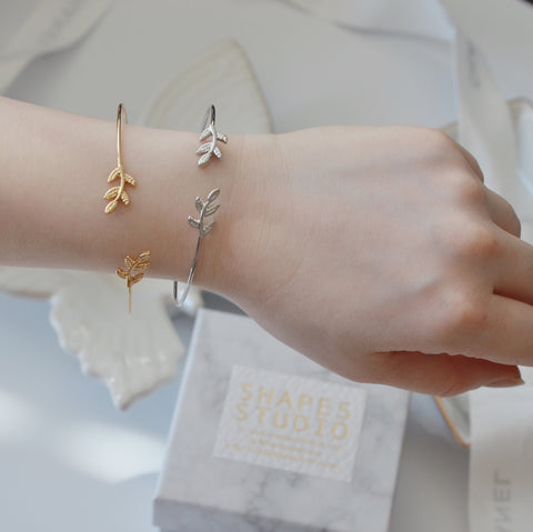 THE VINTAGE LEAF BRACELETS SET