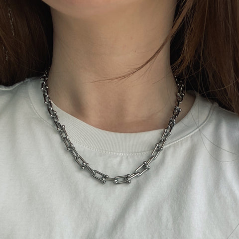 THE BOLD HARDWEAR PINBALL CHAIN NECKLACE (2 colors)