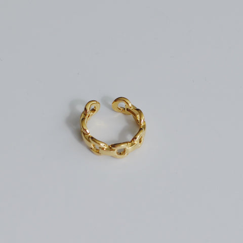 THE GOLD CHAIN BAND RING