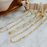 THE LAYERING CHAIN NECKLACE / CHOKER (3 Styles)