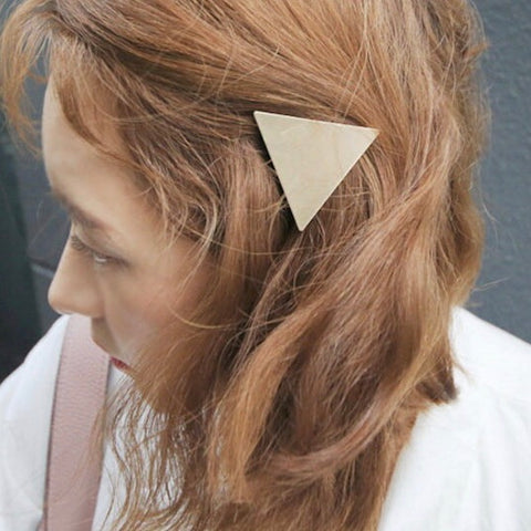 2 PIECES - THE MATTE METAL HAIR PINS / CLIPS (3 colors)