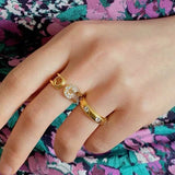 THE DAINTY BAND RING