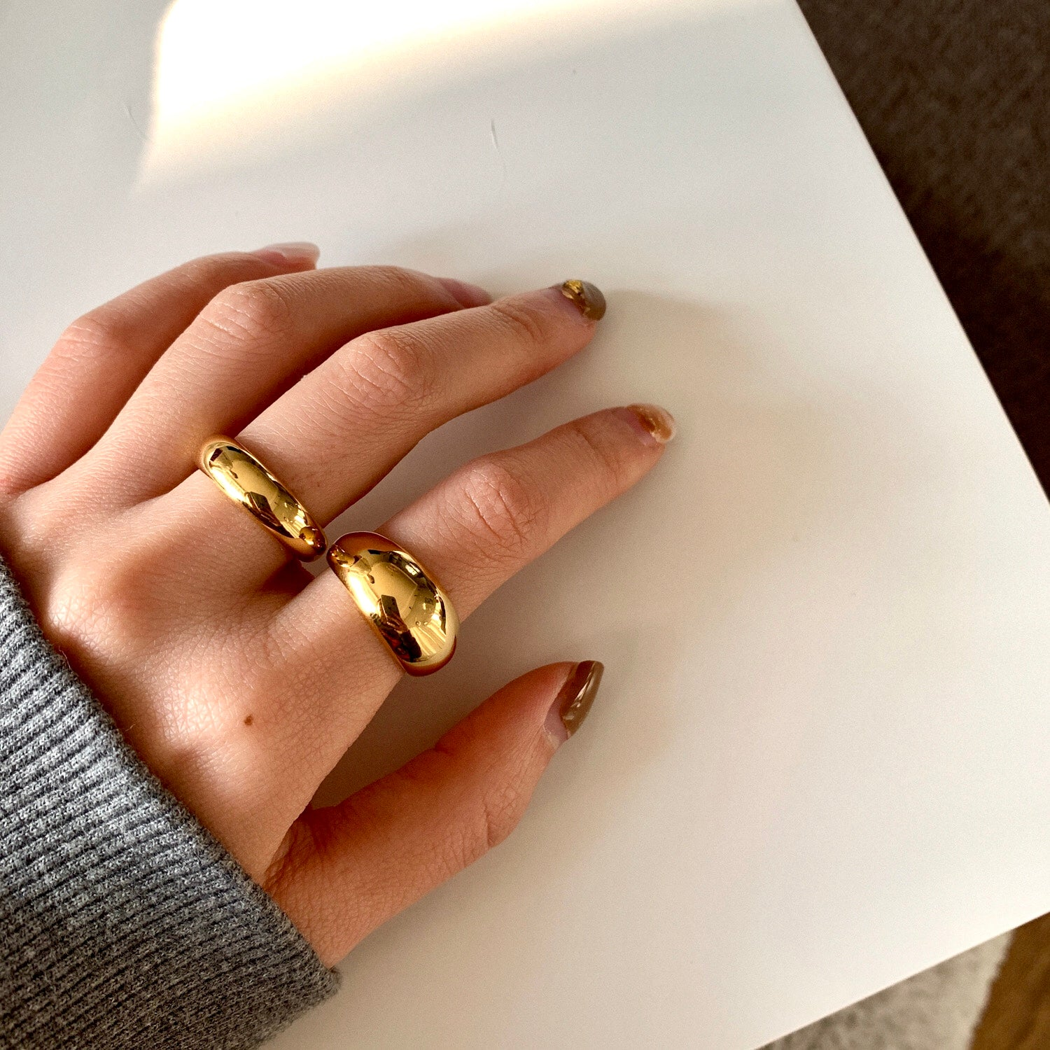 THE BOLD DOME RING (2 styles)