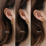 THE HOOP EAR CUFFS - NO PIERCINGS NEEDED