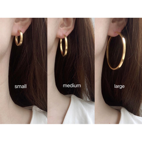 THE EVERYDAY CLOSED HOOP EARRINGS (3 Styles)