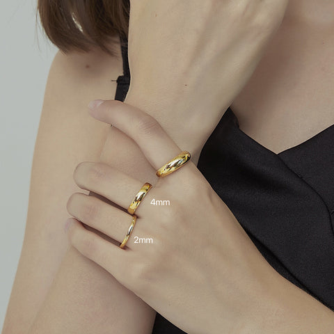 THE MUST-HAVE STACKABLE BAND RING (3 Styles)
