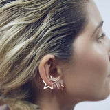 THE SPECIAL STAR EAR CUFFS - 2 PIECES