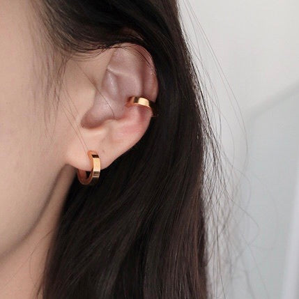 THE MINI GOLD EAR CUFFS - NO PIERCINGS NEEDED