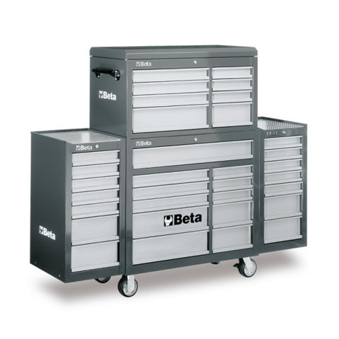 Beta tools C38C-G-MOBILE ROLLER CAB 25 DRAWERS GREY