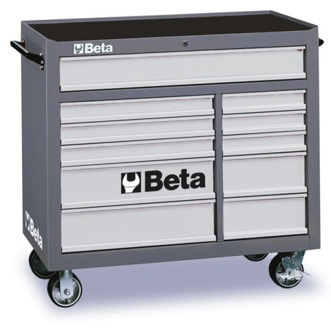 Beta Tools C38-G-MOBILE ROLLER CAB 11 DRAWERS GREY