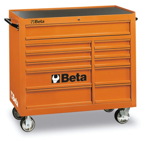 Beta Tools C38-O-MOB. ROLLER CAB 11 DRAWERS ORANGE