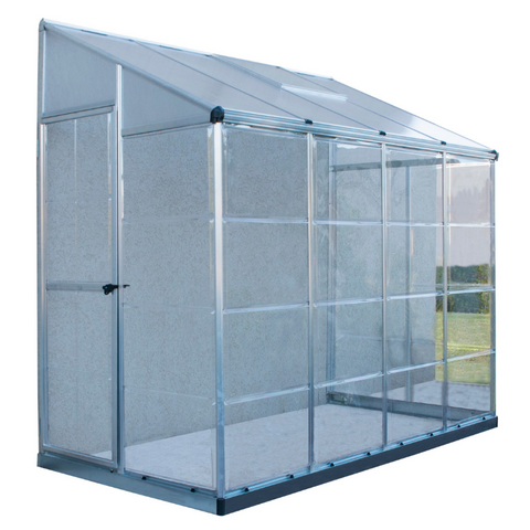 Image of Palram HG5548 Hybrid Lean-To 4' x 8' Nature Series