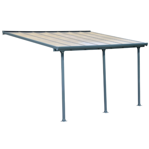 Palram Feria 10' x 14' Patio Cover - Gray - HG9414