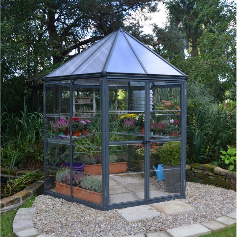 Palram Oasis Hex 7' x 8' Greenhouse - HG6000