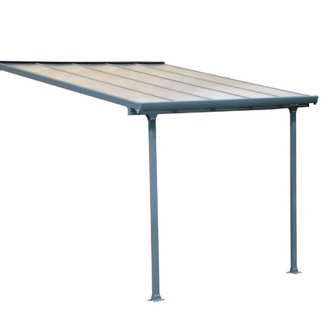 Image of Palram Feria 10' x 10' Patio Cover - Gray - HG9410