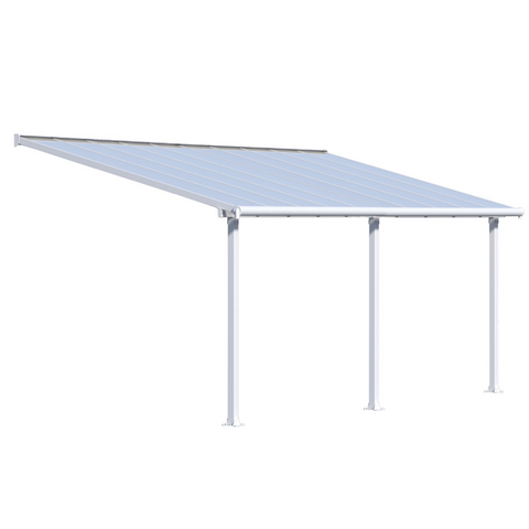 Image of Palram Olympia 10' x 20' Patio Cover - White/White - HG8820W