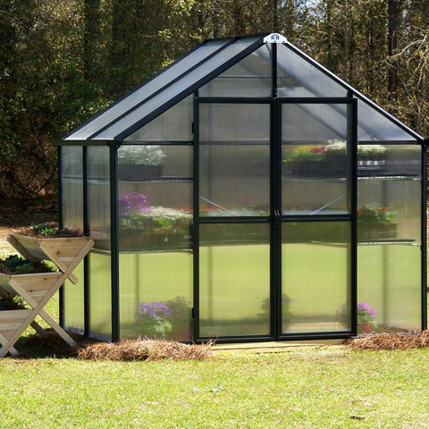 Image of Monticello MONT-PATIO-BK Monticello 8FT x 4FT Patio Greenhouse