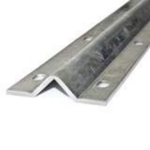 Aleko Galvanized Steel V Track For Sliding Gate Opener 12 Feet VTRACK12FT-AP
