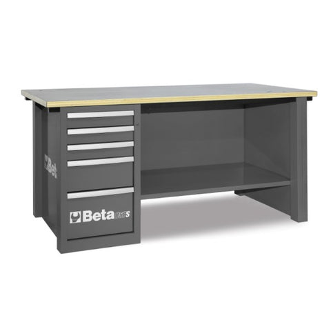 Beta Tools C57S/D-G-MASTERCARGO WORKBENCH GREY