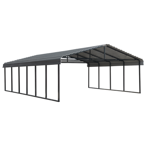 Arrow CPHC202907 CARPORT 20X29X07 CHARCOAL