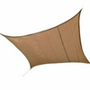 ShelterLogic 25723 16 ft. / 4,9 m Square Shade Sail - Sand 230 gsm