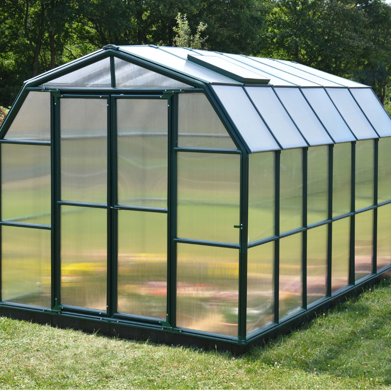 Palram Rion Grand Gardener 8' x 12' Greenhouse HG7212 - Twin Wall